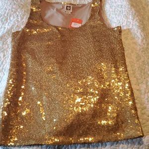 Womans glitter blouse-vintage